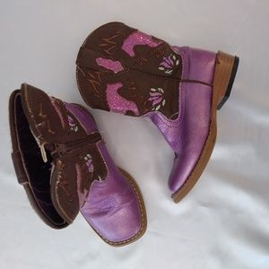 ROPER western boots for toddler girl size 8